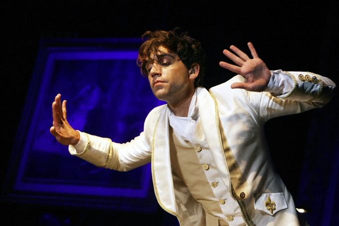 Mika in Liège, Belgium @ Festival Les Ardentes - 10 July 2011