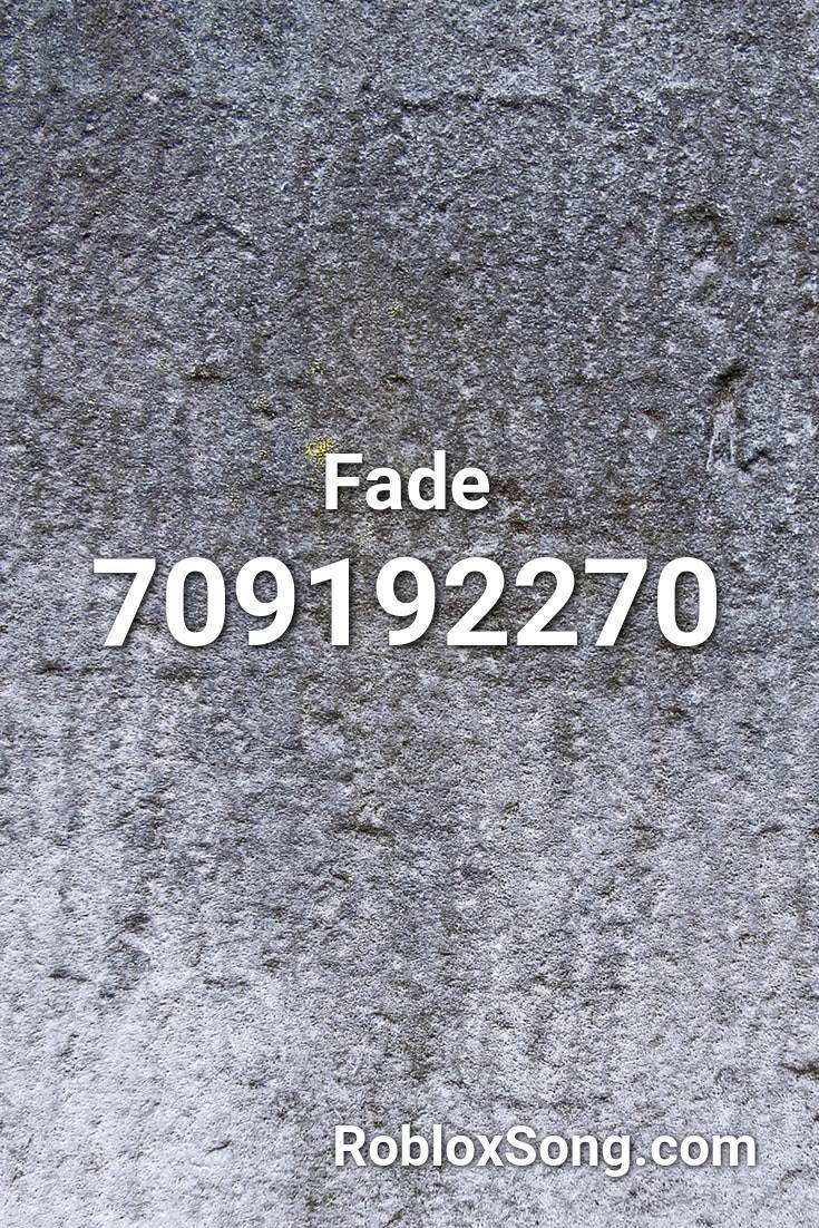 Faded Roblox Id Fade Roblox Id Roblox Music Codes In 2020 Roblox Faded Music