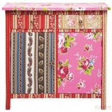 Commode Patchwork 2 Portes 2 Tiroirs Kare Design