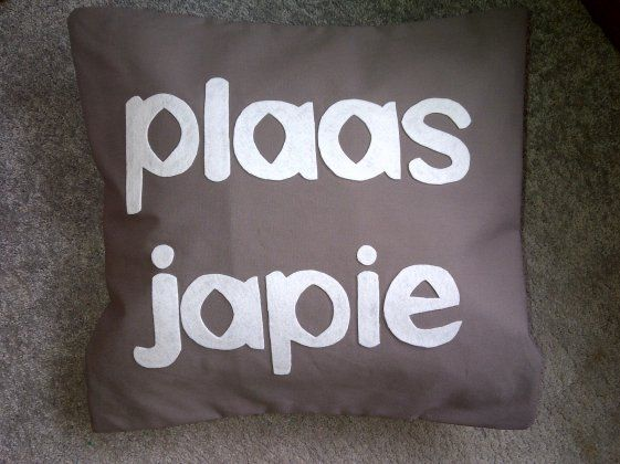 """Ietsie Nice ♡ """"Plass Japie"""""""