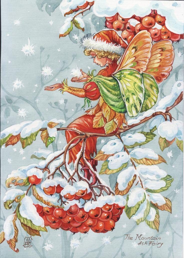 Посмотреть иллюстрацию Коршунова Марина - зимняя фея.