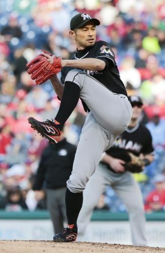 Ichiro pitching