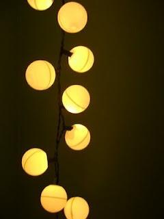 Christmas lights and ping pong balls more wedding ideas - Ping pong christmas lights ...