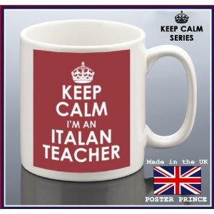 Keep calm I'M AN ITALIAN TEACHER