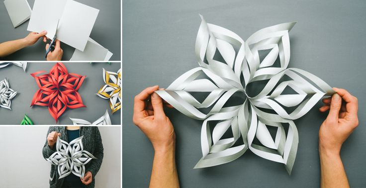 Vytvorte si krásnu gigantickú snehovú vločku, ktorá bude skvelou vianočnou dekoráciou.