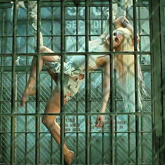 harley quinn in her cell - Google Search