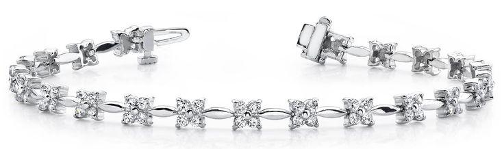 Diamantarmband 3.05 Karat aus 585er/750er Gelb- oder Weißgold  #diamantarmband #diamonds #diamante #diamanten #gold #schmuck #diamantschmuck #juwelier #abt #dortmund #brillant #armband #armschmuck