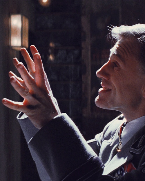 Christopher Waltz Inglorious Basterds