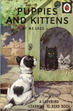 PUPPIES AND KITTENS Ladybird Learning to Read Series 563 Matt Hardback 1969