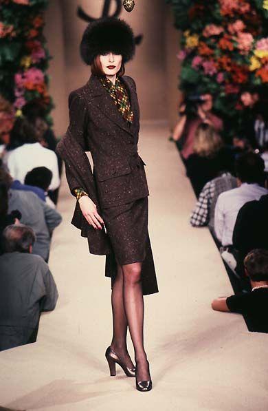 Yves Saint Laurent Haute Couture F/W 1996