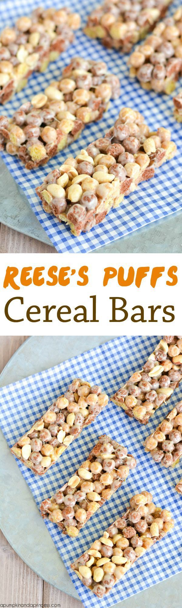Reese's Puff Cereal Bars   Fun Snack Recipe for Kids