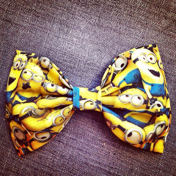 Despicable Me minion bow from etsy