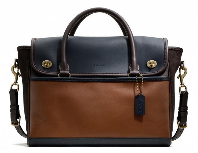 Man Bag Monday: Coach Legacy Utility Flap Commuter Bag - PurseBlog