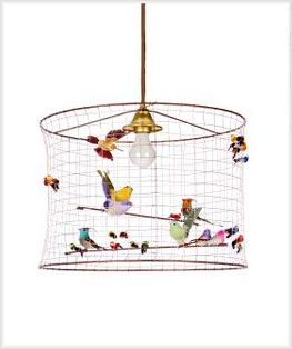 Another Variation Of The Bird Cage Light Fixture