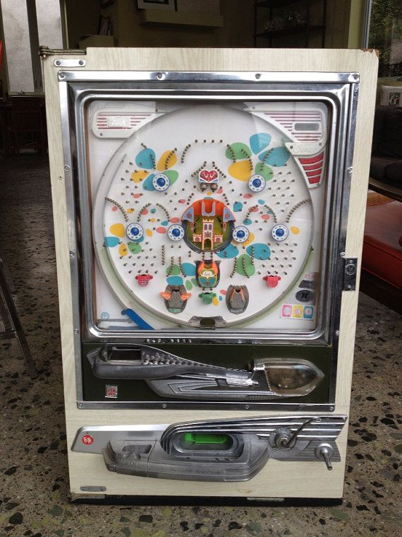 vintage plinko machine