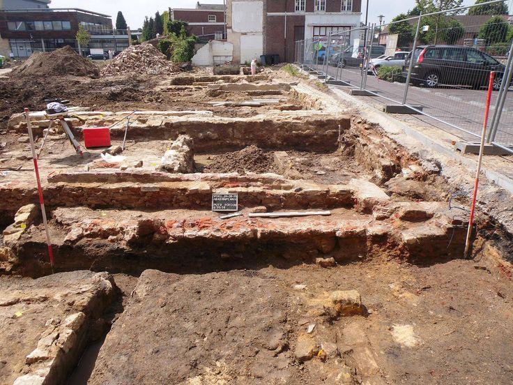 voerendaal   juli 2015   archeologisch onderzoek op het Kerkplein
