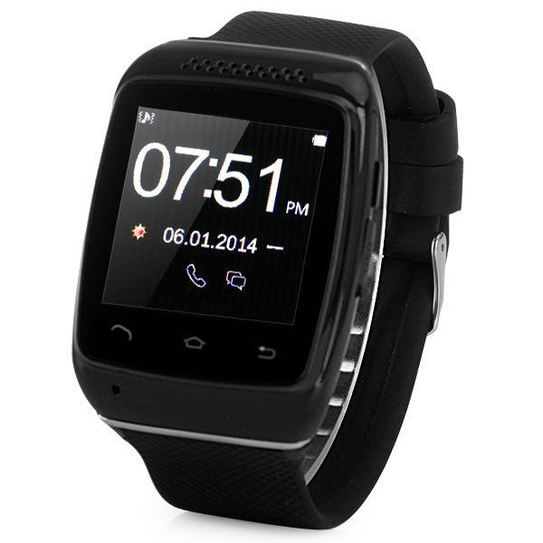 S12 New Fashionable Smart Bluetooth Watch for Voice Dialer Music Sync QR Code and Bluetooth Pairing