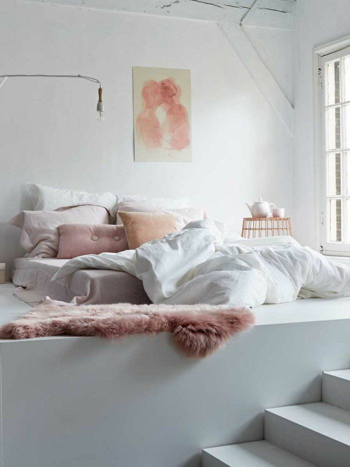 478 best Time to Sleep images on Pinterest - chambre grise et rose