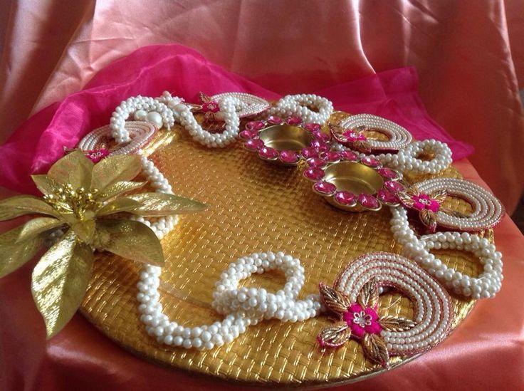 Platter or thali decorative