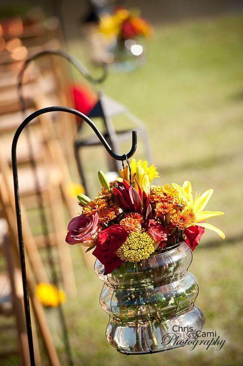 Rustikale Vintage elegante Land Herbst / Herbst im freien DIY Hochzeitsempfänge Ideen …   – Fall Weddings