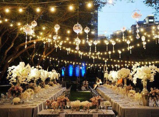 Allestimenti luminosi al matrimonio: luci a sposensione, decorazioni e candele - Matrimonio.it: la guida alle nozze