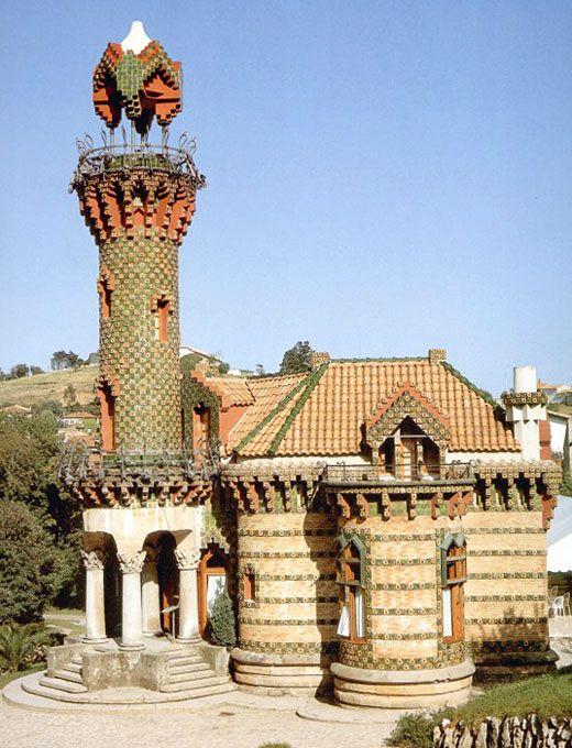 El Capricho, Las Comillas, Cantabria, España, Antonio Gaudi