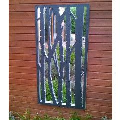Birch Wall Panel Mirror 2ft x 4ft on Sale | Fast Delivery | Greenfingers.com