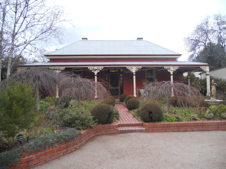 Beechworth - love staying in the beautiful old homes