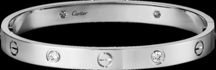 #Brazalete Love de #Cartier de 18 Kilates