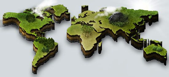 40 Vector World Map Collection (eps, psd, ai, svg