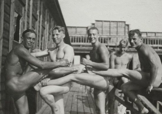 WW2 soldiers from US, UK & Australia frolicking | Betty Dodson with Carlin Ross