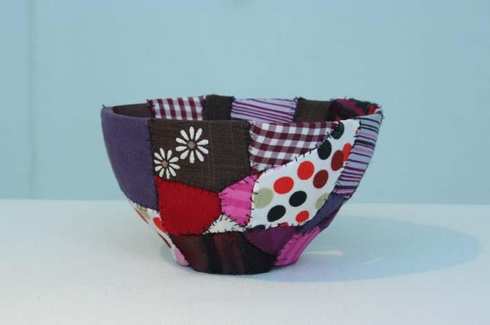 ceramic sewed with fabrics