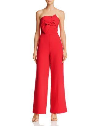 a9c66257822 Shop Strapless Bow-Front Jumpsuit online at Bloomingdales.com ...