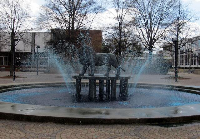 State Fountain at Old Dominion University - Norfolk, VA
