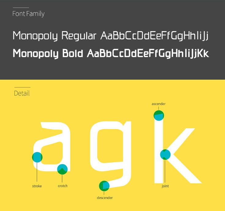 Monopoly Bold and Regular is a Typeface font that would be perfect for your resume, booklet, or anything more. It will give your design a formal and p...
