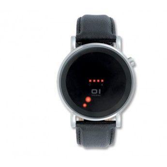 "Reloj con Led de color Rojo Colección ""Odins Rage"" de la innovadora marca The One. http://www.tutunca.es/reloj-led-rojo-odins-negro"