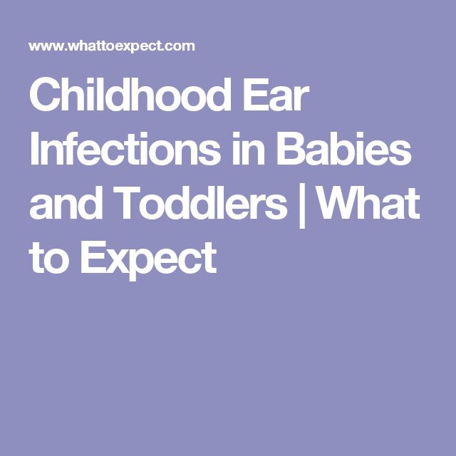 how to stop ear infections in toddlers