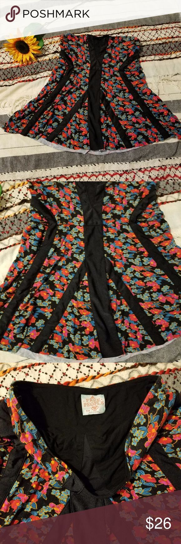 Free People Kimono-Print Tube Top Size medium Free people tank in excellent condition! No flaws, stains, or wear. Great with leggings, jeans, or a pencil skirt.  Any additional questions? Please do not hesitate to ask! :) -bn5- Free People Tops