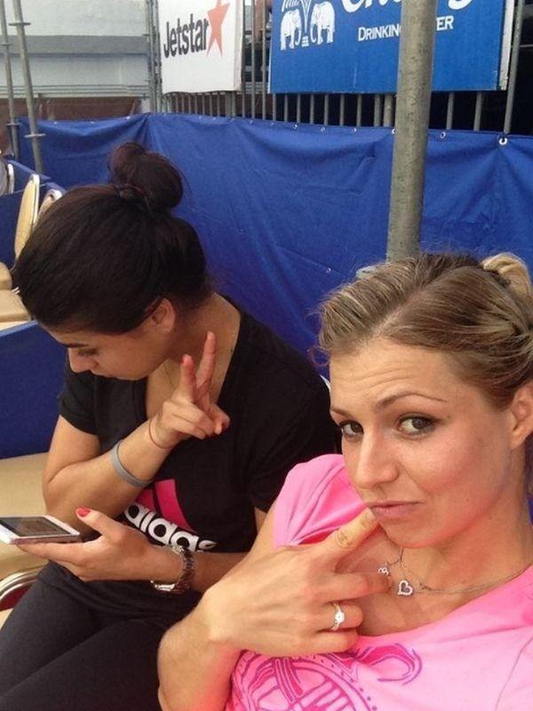 Sorana Cirstea si Maria Kirilenko la Pattaya