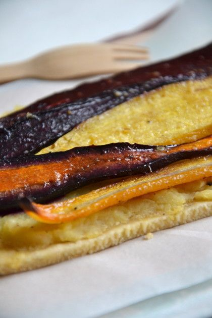Tarte fine carotte betterave panais