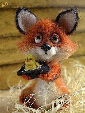 Новости. Fox and chick.