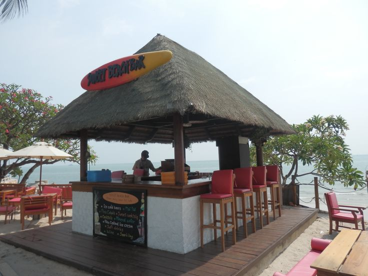 Beach Bar at the Hilton Hua Hin Resort in Thailand