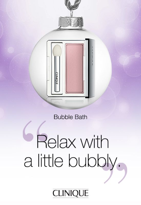 #TreatYourself this #holiday season with #Clinique All About Shadow in Bubble Bath. #Beauty #Makeup #Eyeshadow #Gifts