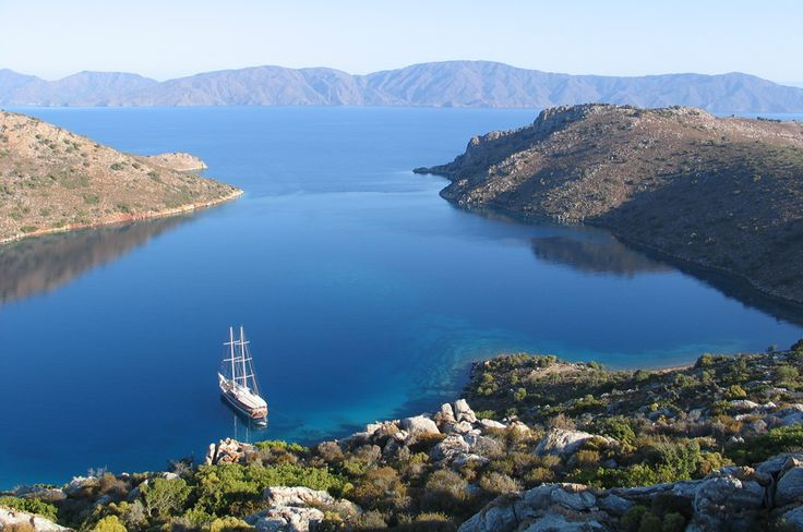 Dirsekbuku Bay, Turkey ... anchored my boat here some years ago .... sailing where already Peter and Paul stayed.