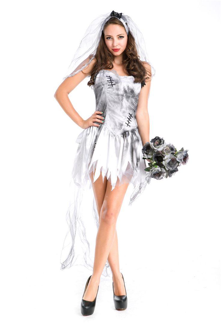 25+ best Ghost bride costume ideas on Pinterest | Ghost makeup ...