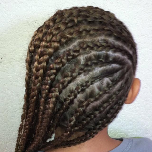 Side Cornrows Hair Pinterest