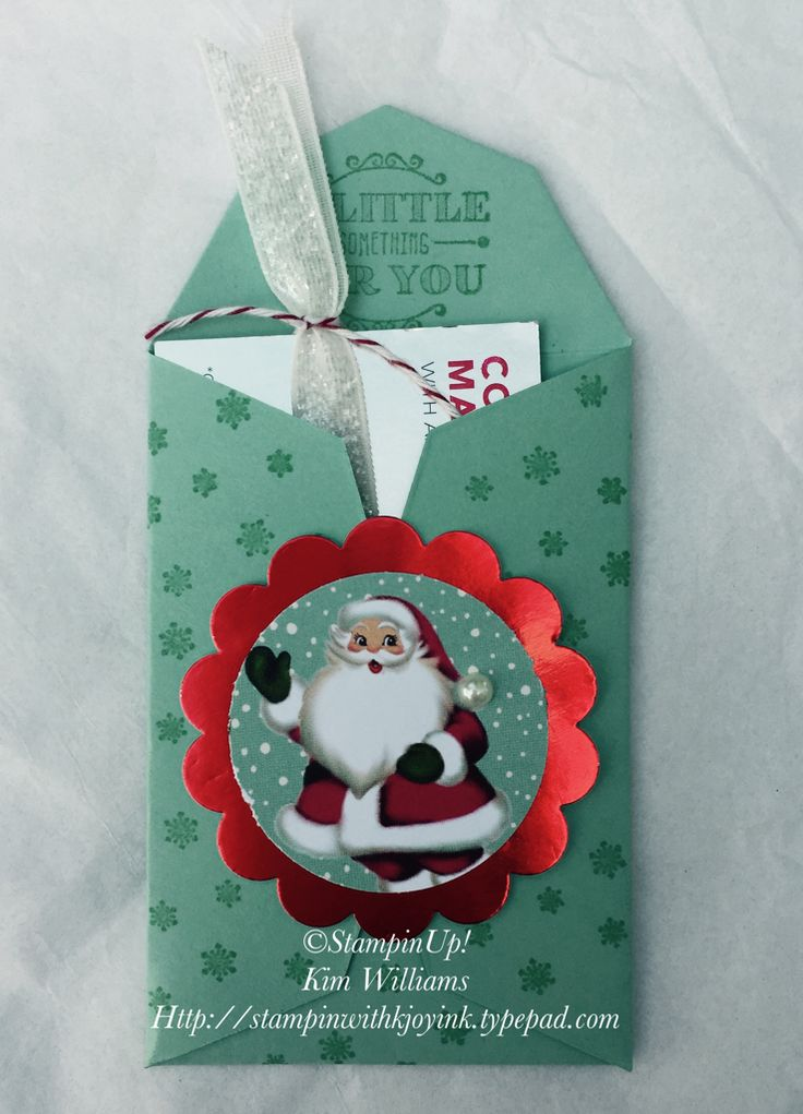 1060 best images about gift card money holders on for Christmas card holder craft project