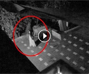Scary Videos: Chilling Footage Of Ghost Caught On CCTV Camera