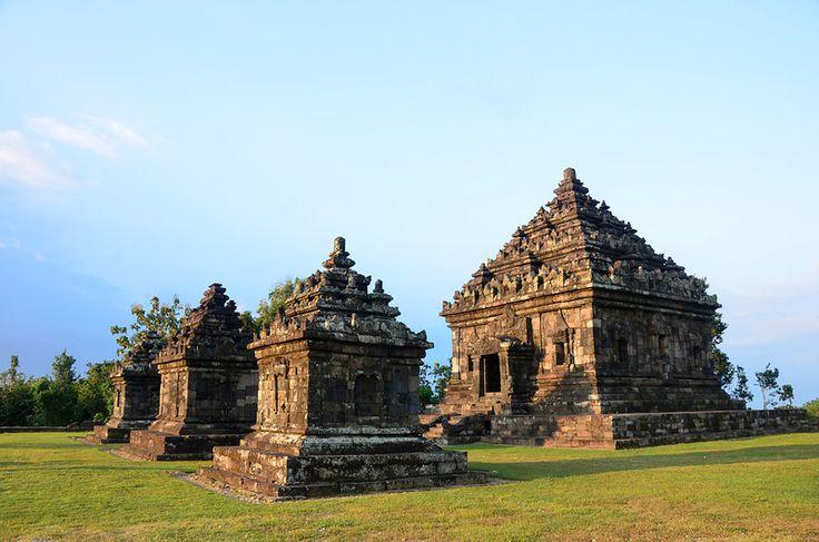 IJO TEMPLE The Temple Located at The Highest Place in YogyakartaBukit Ijo, Desa Sambirejo, Prambanan, Sleman, Yogyakarta, Indonesia Ijo (in Javanese language, this word means