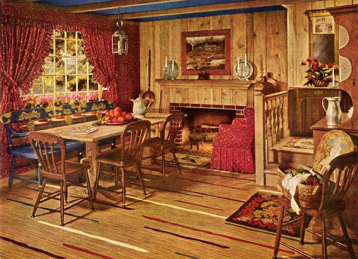 95 best vintage interior design images on pinterest | vintage